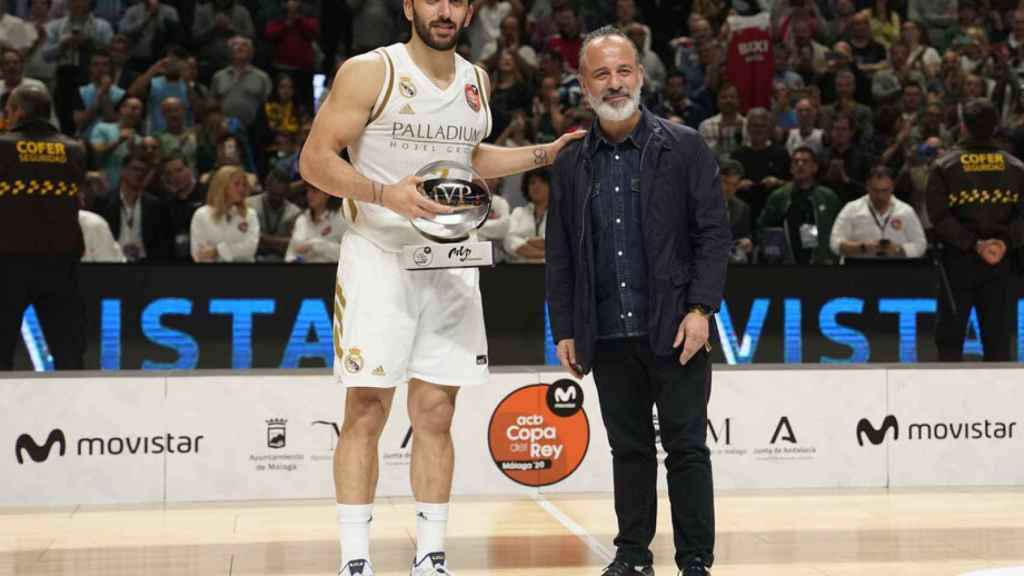 Campazzo, MVP de la Copa del Rey