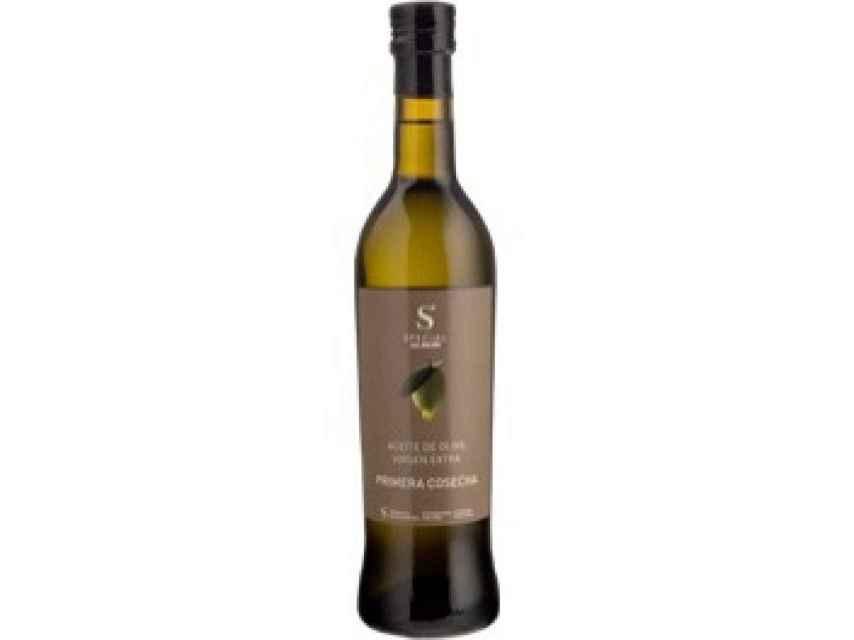 Aceite de oliva de Aldi.