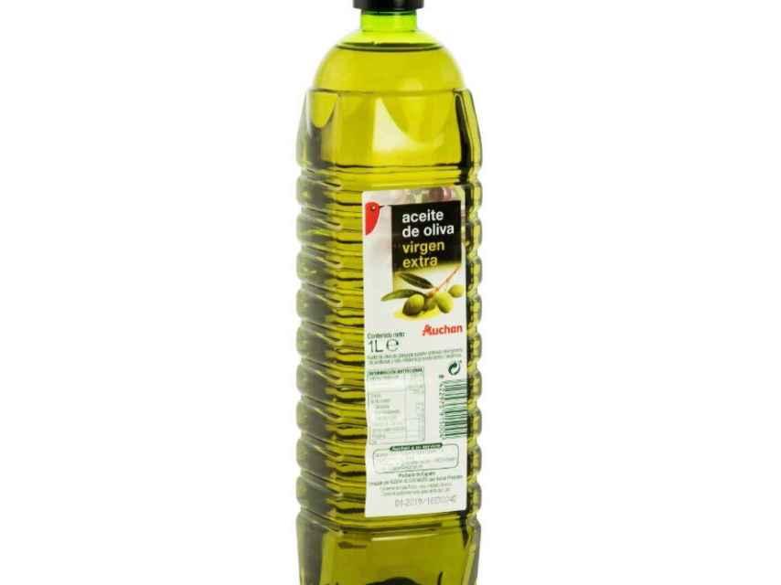 Aceite de oliva Auchan.