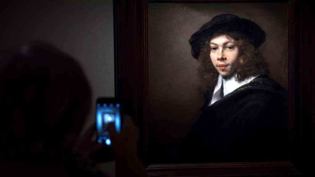 'Joven con gorra negra'', de Rembrandt, en el Thyssen.
