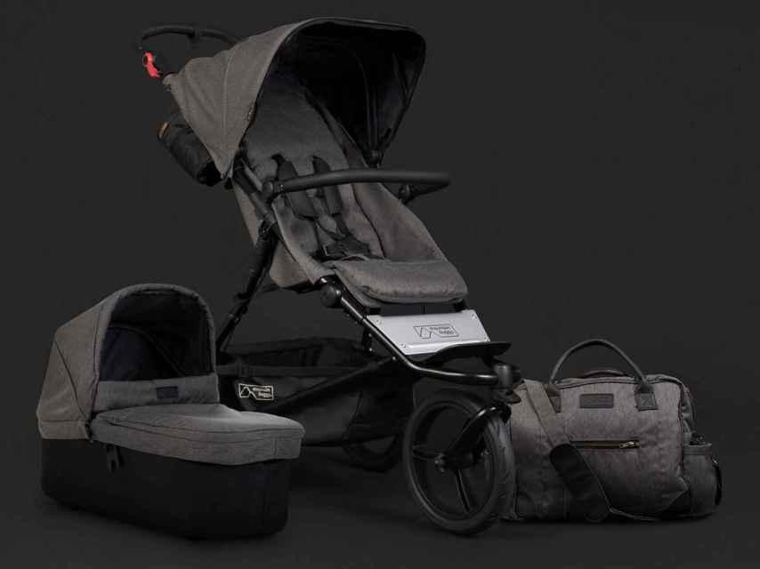 El nuevo carrito de bebé de Toñi Moreno, el Urban Jungle colección luxury.