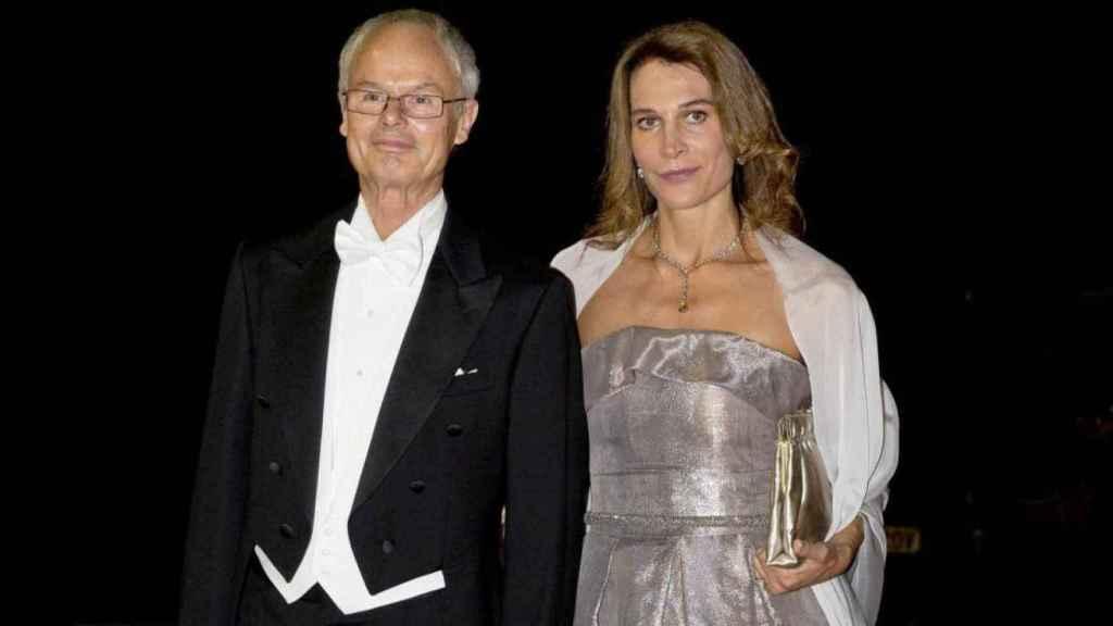 Álvaro de Orleans-BorBon y su mujer,  Antonella Rendina.