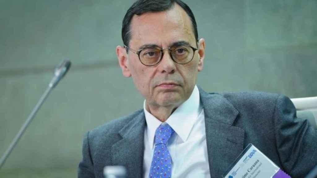 El exgobernador del Banco de España Jaime Caruana.