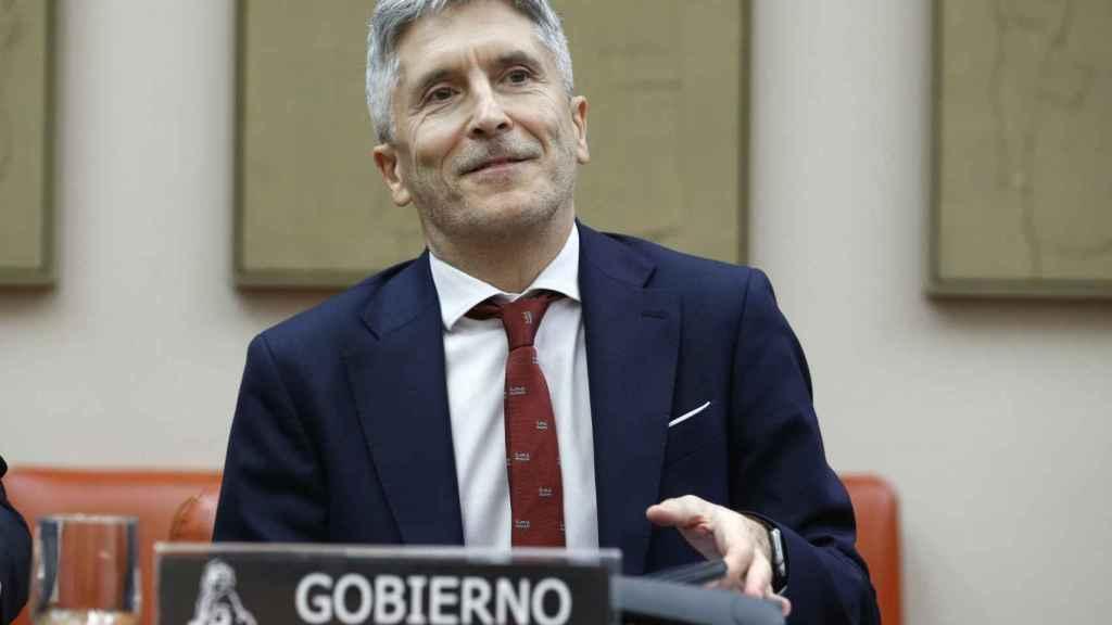 Fernando Grande-Marlaska en la Comisión de Interior del Congreso.