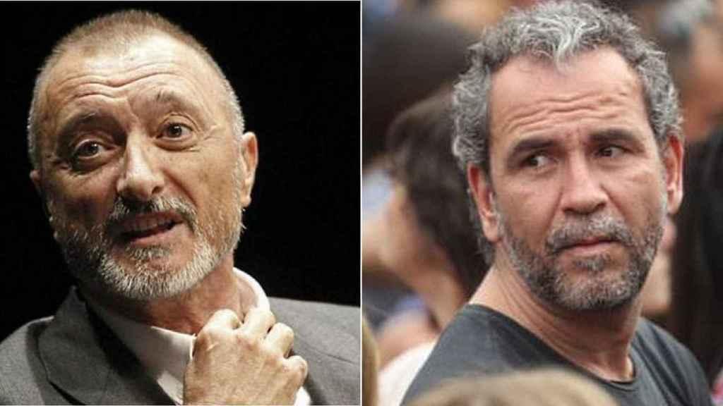 Arturo Pérez-Reverte y Willy Toledo.