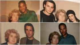El misterioso álbum de fotos de una señora con estrellas de Hollywood: era periodista