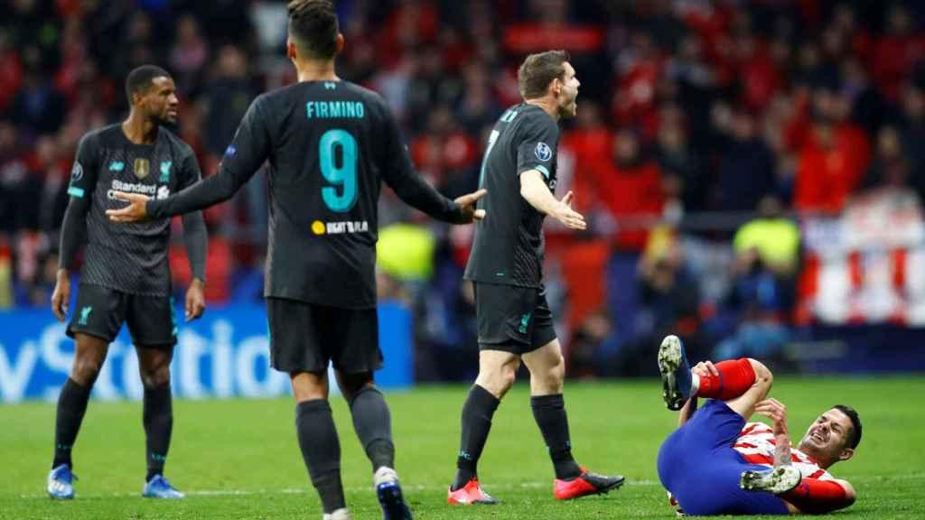 La frustración de Milner, Firmino y Wijnaldum