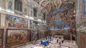 Los tapices de Rafael, de nuevo en la Capilla Sixtina.