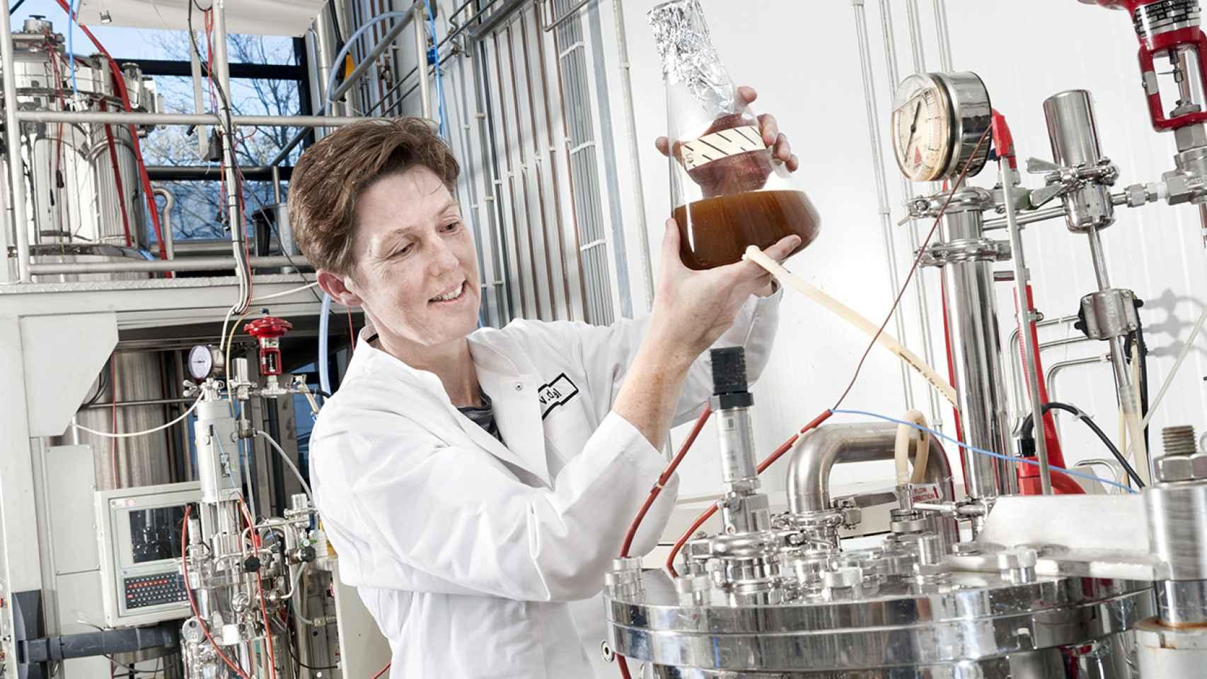 Biorrefinería en la que se pone en práctica la bioeconomía circular del proyecto Urbiofin.