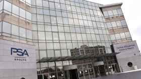Imagen de una de las principales sedes de PSA en Poissy (Francia).