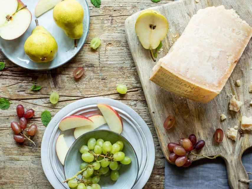 Para armonizar el Parmigiano hay que tener en cuenta su curación.