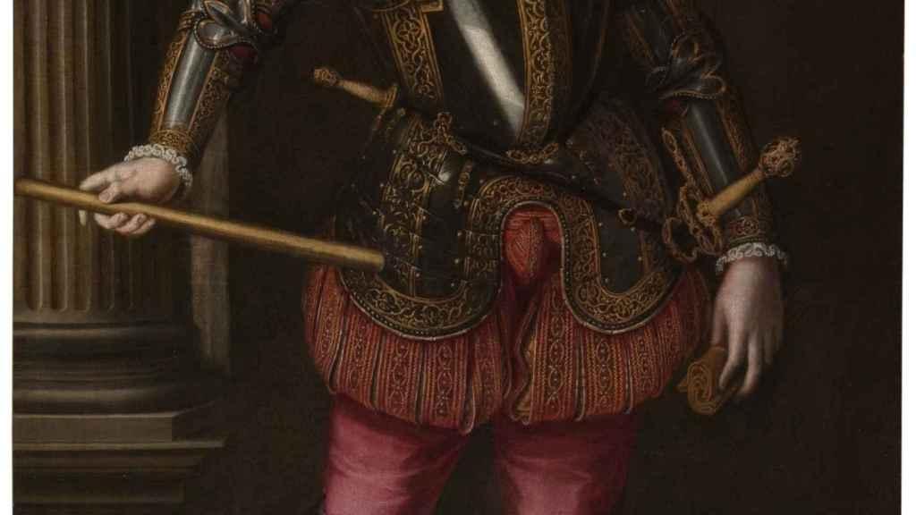 'El rey don Sebastián de Portugal', un retrato de Cristóbal de Morales.