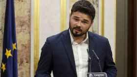 El portavoz y diputado de ERC en el Congreso, Gabriel Rufián.