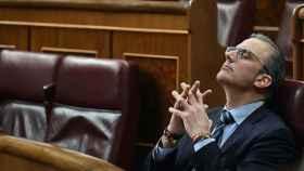 Javier Ortega Smith en el Congreso de los Diputados.