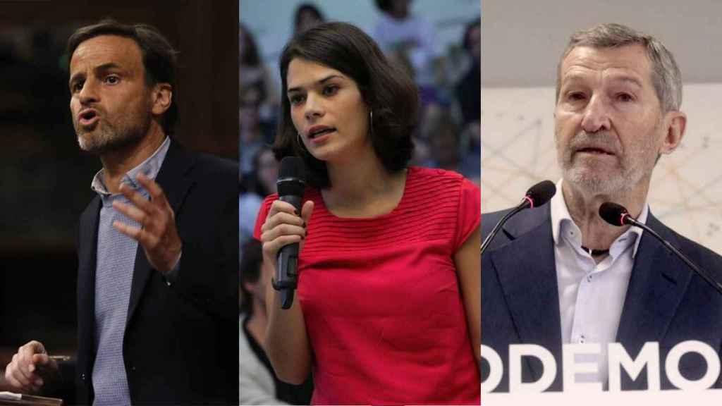 Iglesias modela una dirección a su medida con sus fieles Asens, Isa Serra y el ex Jemad Rodríguez
