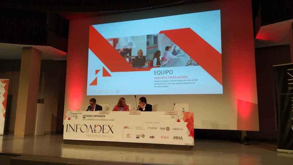 Presentación de las cifras de inversión publicitaria de 2020 de Infoadex.