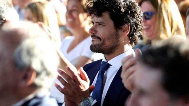 Miguel Abellán en un acto del PP