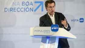 El presidente del PP en Galicia, Alberto Núñez Feijoó.