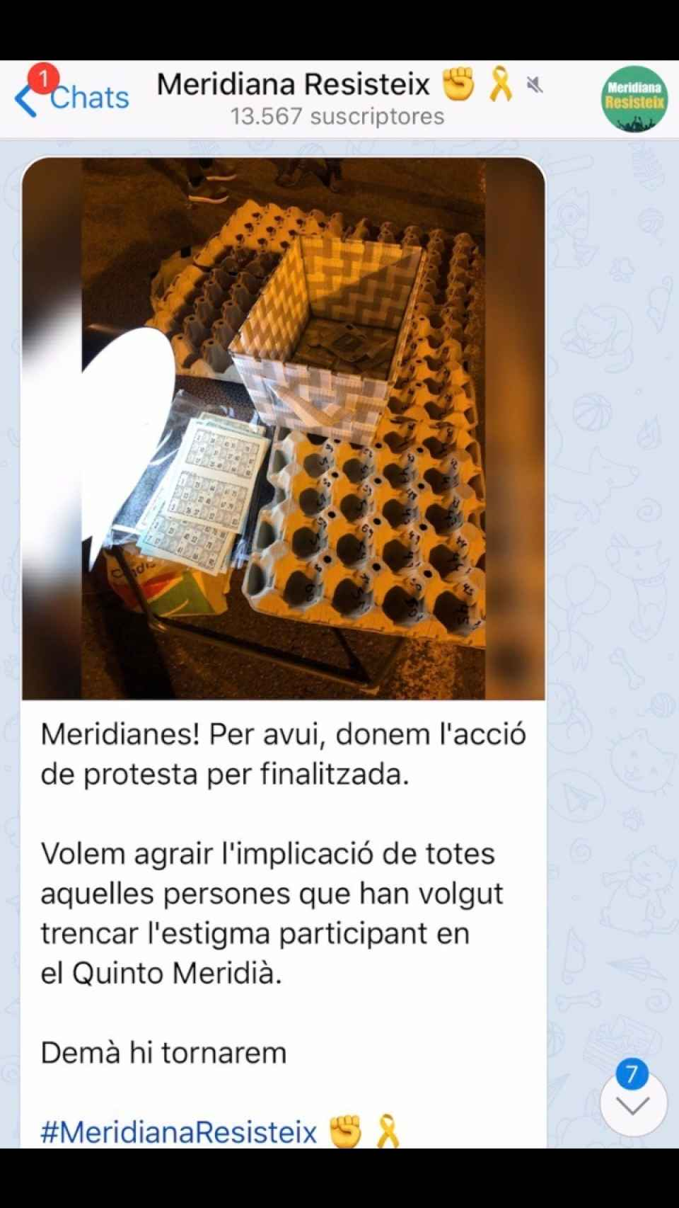 Grupo de Telegram de los CDR