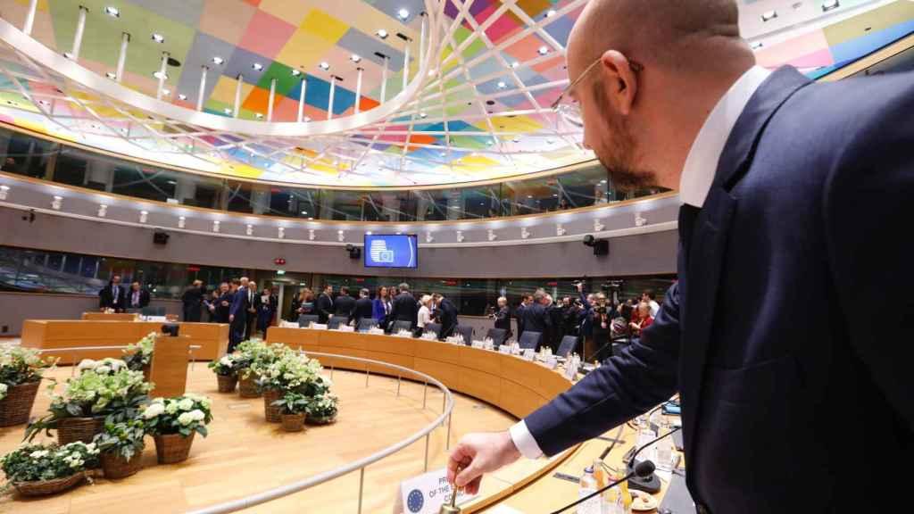 Charles Michel hace sonar la campana para dar inicio a la cumbre de la UE