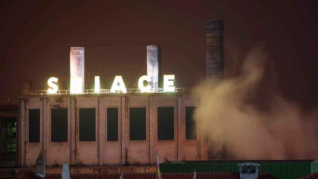 Fábrica de Sniace en Torrelavega (Cantabria).
