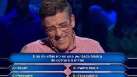 Jero, ex concursante de 'Pasapalabra', en el concurso de Antena 3