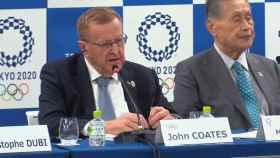 El presidente de la comisión coordinadora para los JJOO, John Coates