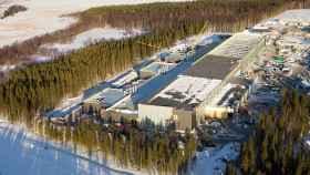 Imagen del Luleå Data Center en construcción.