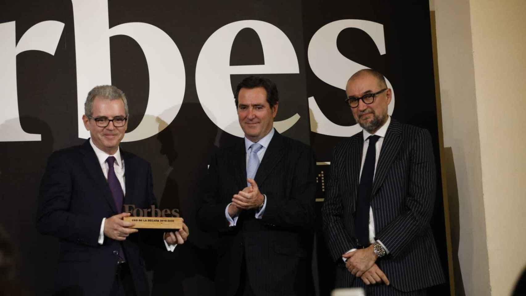 Pablo Isla, premio Forbes al CEO de la década.