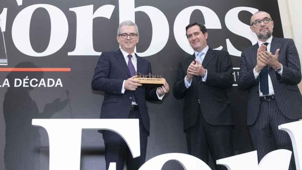 Pablo Isla, presidente de Inditex, premio CEO del año de la revista Forbes.