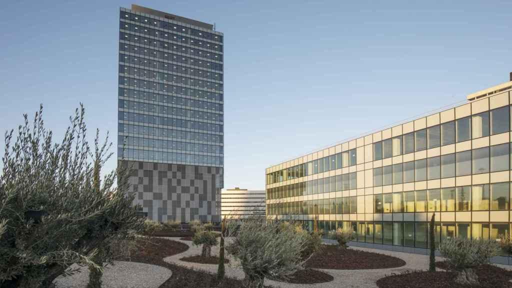 Imagen de Torre Chamartín, propiedad de Merlin Properties.