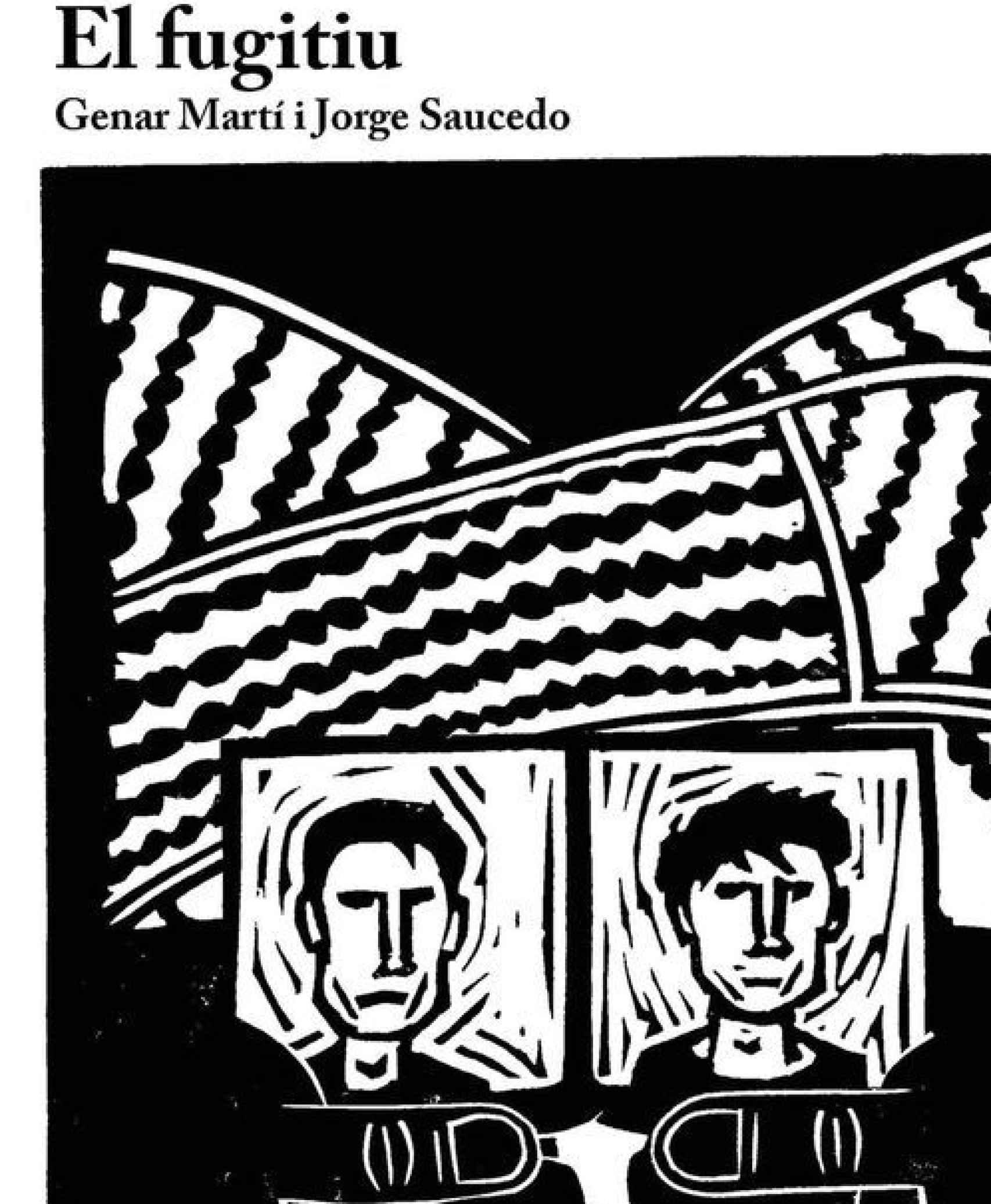 El Fugitiu, la portada del libro que investiga la fuga.