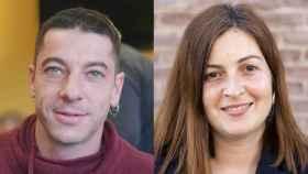 Miquel (37) y Zuriñe (36), dos hijos de donante nacidos en España.