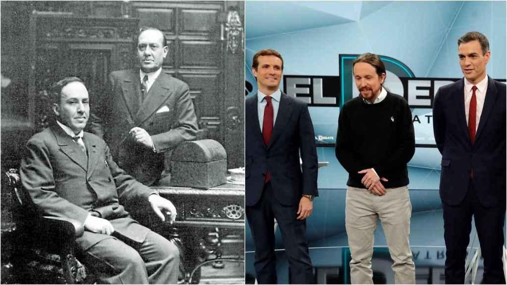 Los Machado y Casado, Iglesias y Sánchez.