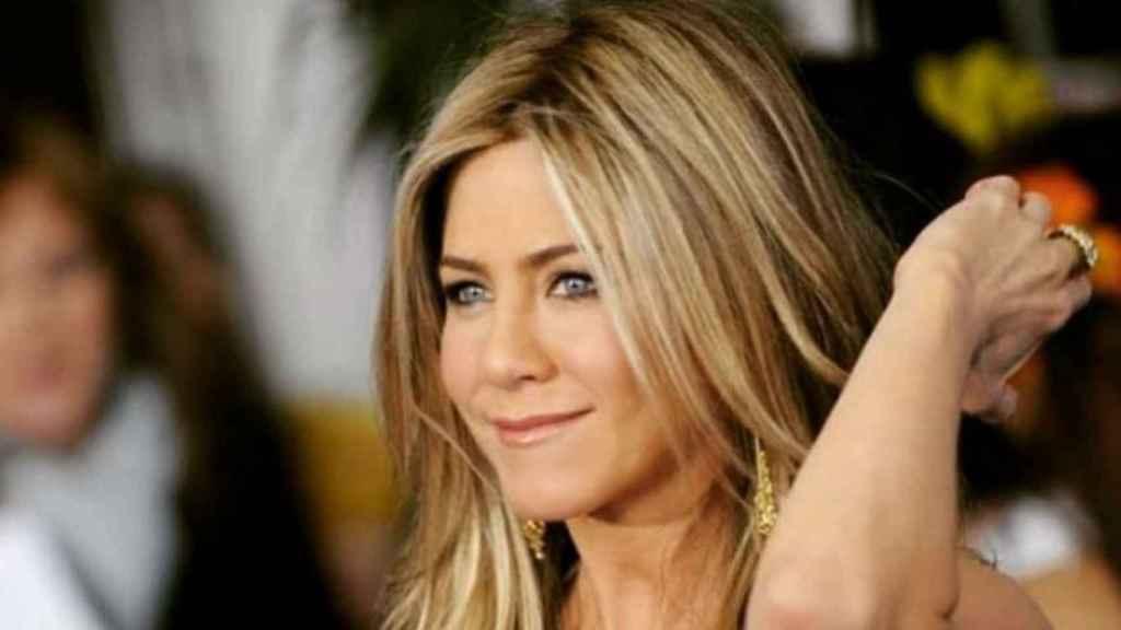 Jennifer Aniston, toda una súpermujer.