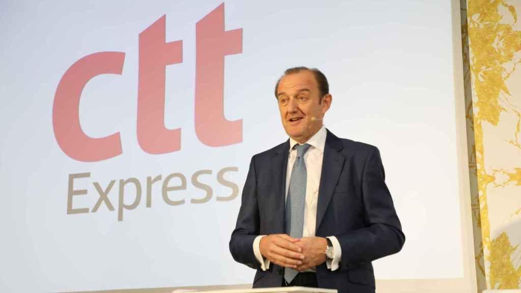 Manuel Molins, director general de CTT Express.