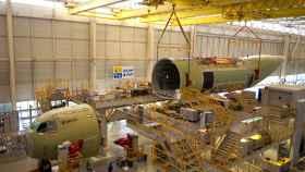 Imagen de una planta de Airbus en Sevilla.