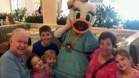 La familia murió en un brutal accidente cerca del parque Disney, en Orlando.