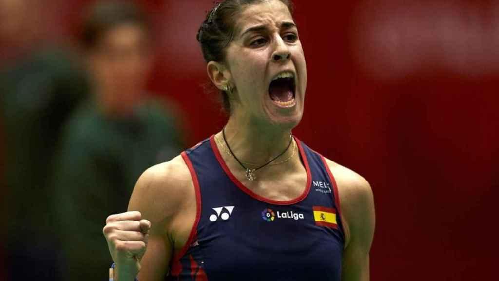 Carolina Marín, en el Barcelona Spain Masters 2020