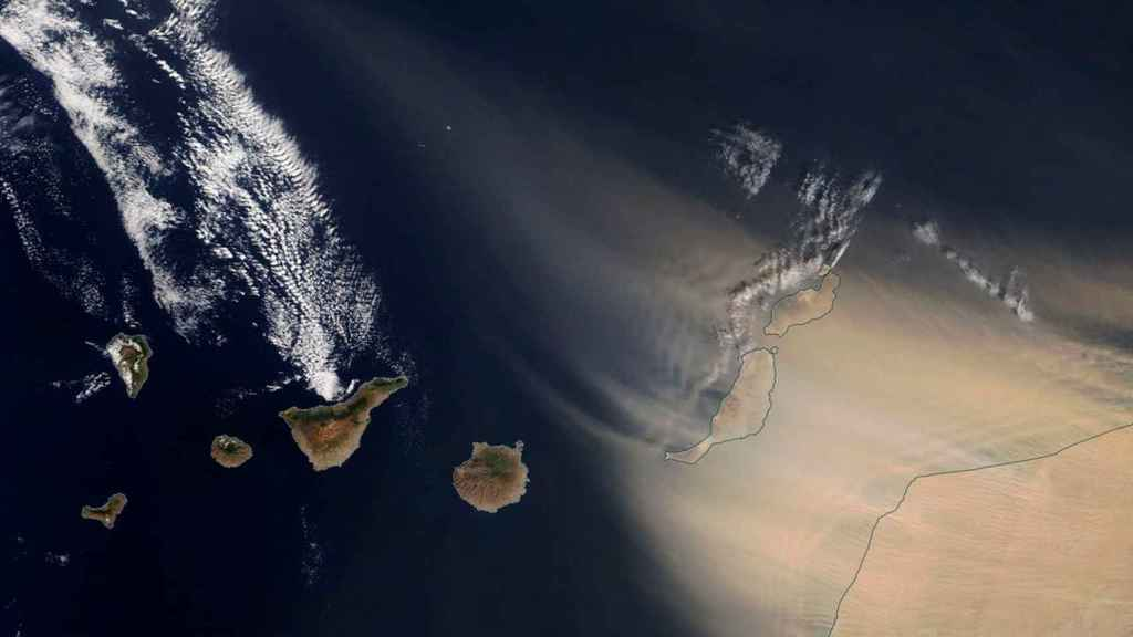 calima en Canarias.