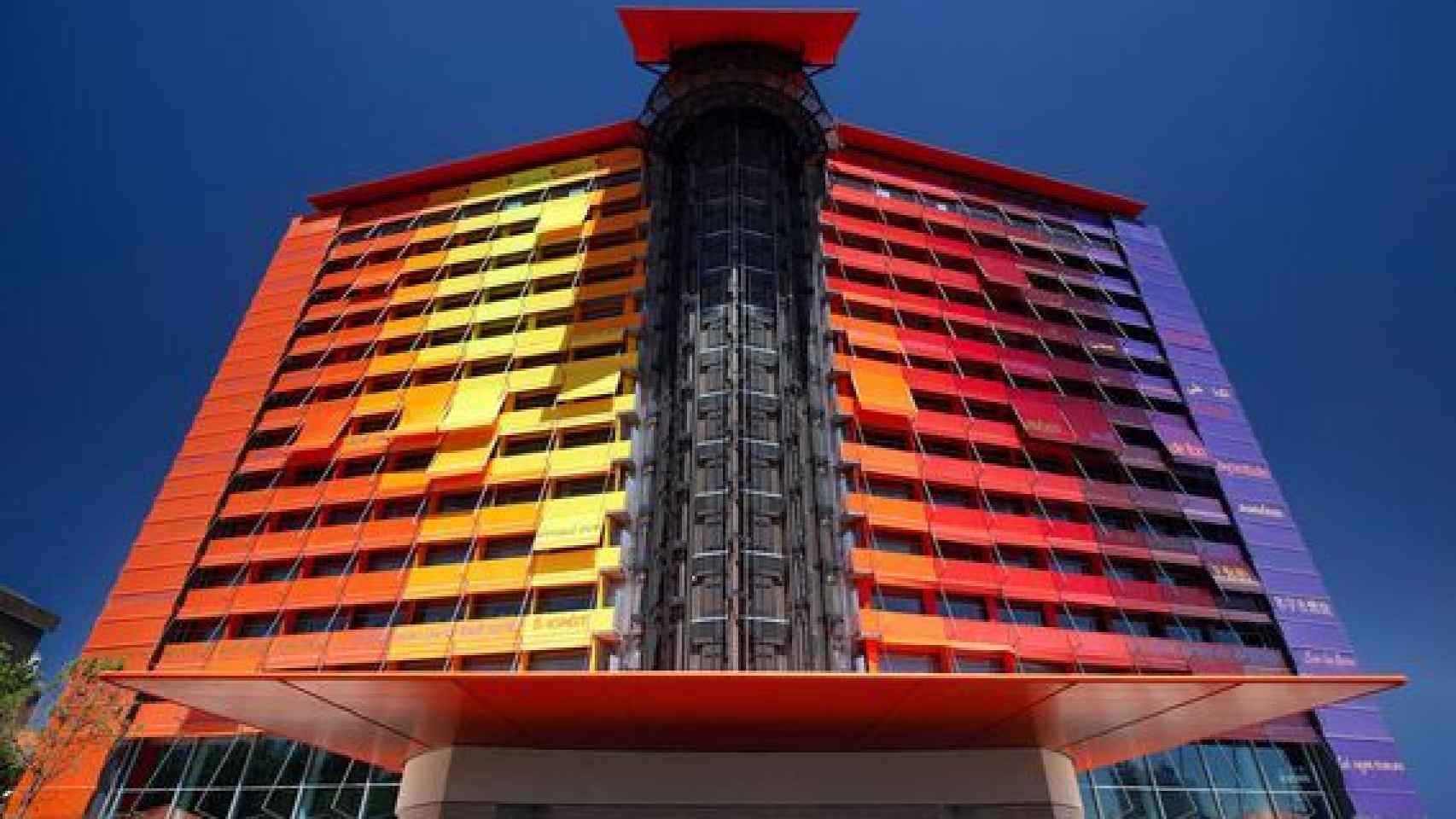 Hotel Silken Puerta de América, en una imagen de archivo.