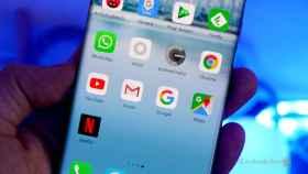 Aplicaciones en un Huawei Mate 30 Pro.