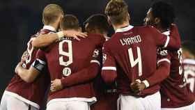 El Torino celebra un gol en la Serie A