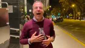 Cristobal Soria mofándose del Real Madrid