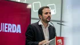 Alberto Garzón, coordinador federal de IU y ministro de Consumo.