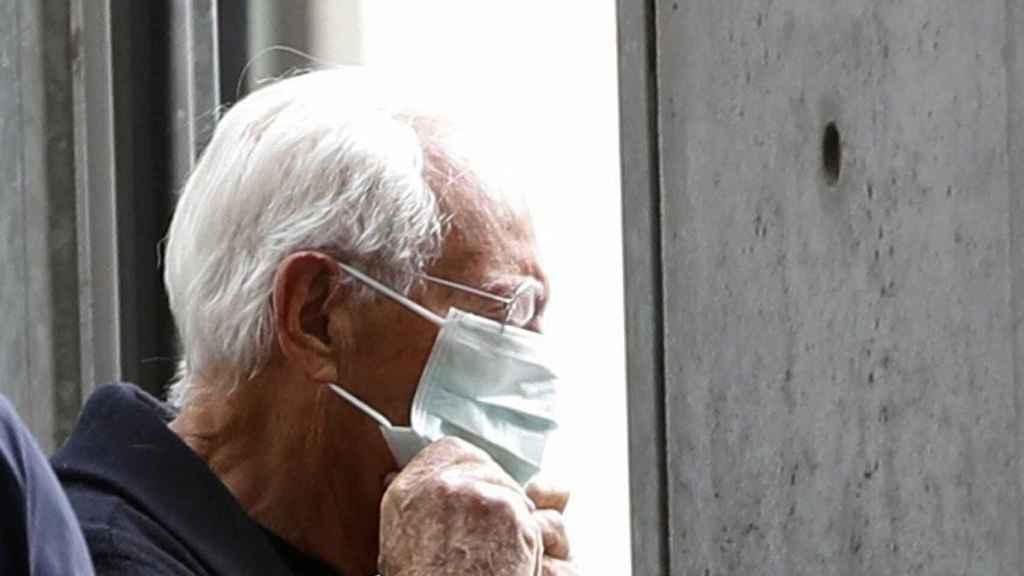 Un ciudadano italiano, en una de las regiones afectadas por el coronavirus.