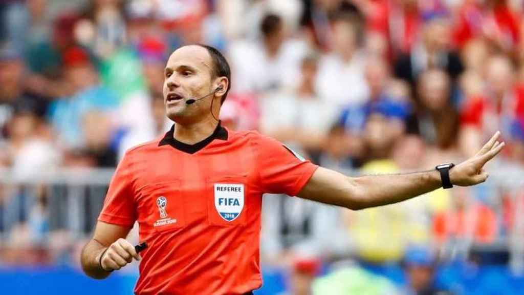 Mateu Lahoz, el árbitro del Real Madrid - Barcelona