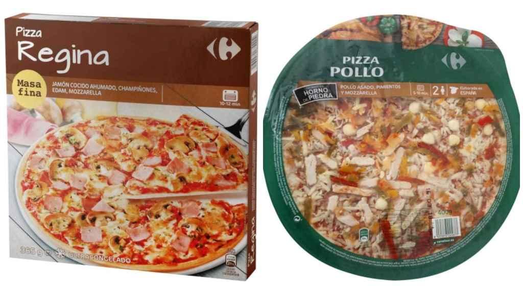 Las pizzas de Carrefour.