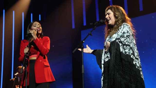 Estrella Morente canta junto a Nia (RTVE)