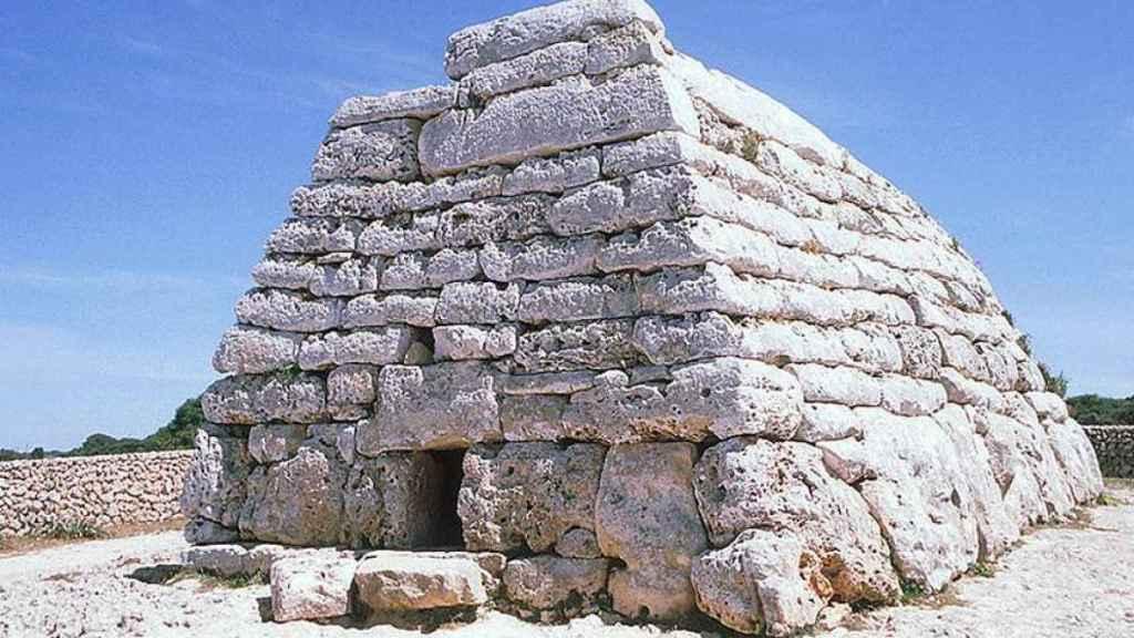 Naveta des Tudons, en Menorca.